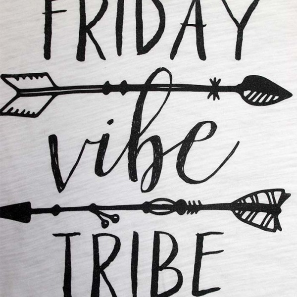Friday Vibe Tribe Close Up