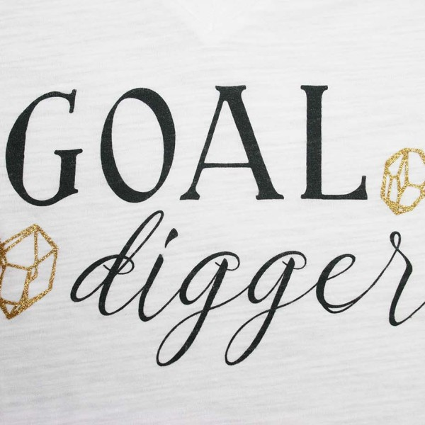 Goal Digger Close Up