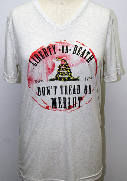 Don't Tread on Merlot